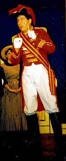 As Sir Joseph Porter, K.C.B., in HMS Pinafore